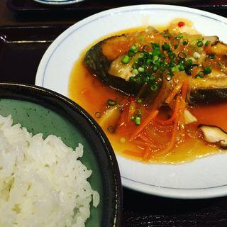 目鯛の唐揚げと野菜あんかけ(和飲。ほの字 六本木店 (ほのじ))
