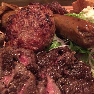 肉盛り(肉とワインの食堂 Bistro Bash )