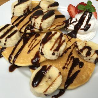 チョコバナナパンケーキ(アイランドカフェアンドバー (Island Cafe & Bar))