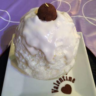 伊佐美の焼酎チョコと純米吟醸酒粕クリーム(雪うさぎ )