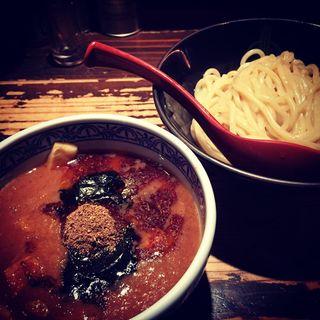 山椒つけ麺(三田製麺所恵比寿南店)