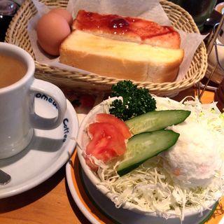 モーニングアンドサラダ(コメダ珈琲店 守山志段味店 )