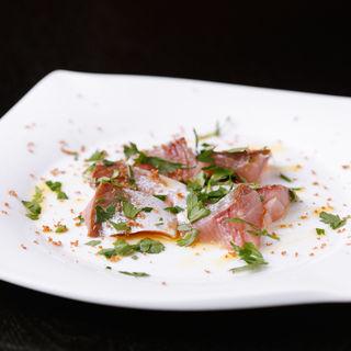 鮮魚のカルパッチョ(オルティージャ (ORTIGIA))
