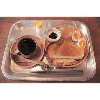 トーストセットA(喫茶めくる )