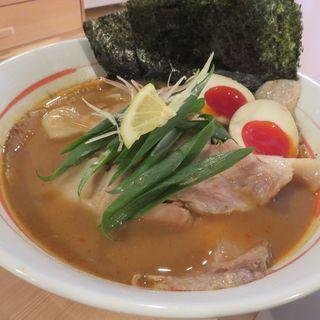味噌チャーシュー麺(らーめん馬鹿力)