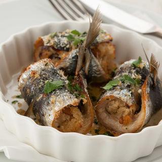 秋刀魚のパン粉焼き(TRATTORIA DA FELICE)