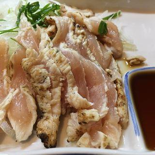 地鶏たたき(スタミナ料理かず)