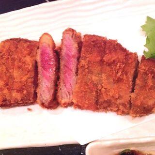 牛サーロインカツレツ(炙り家 縁 )