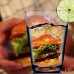 クラフトバーガー、アボカド、エッグ、ゴルゴンゾーラ(Craft Burger co. 北堀江店)