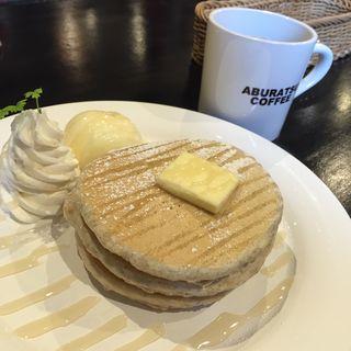 九州パンケーキプレーン(アブラツ コーヒー (ABURATSU COFFEE))