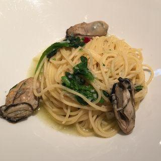 今週の牡蠣パスタランチ(ガンボ&オイスターバー 池袋東口店)