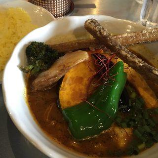 チキン野菜スープカレー(プラスワン (plus one))
