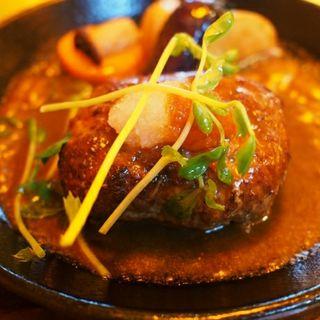 黒毛和牛ハンバーグランチコース(ベーカリーレストラン PRIMAVERA (プリマベーラ))