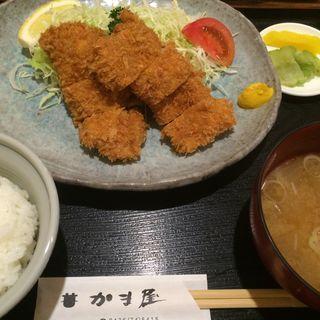 チキンカツ定食(かま屋 )