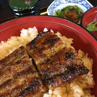 お昼定食(うなぎの川常)