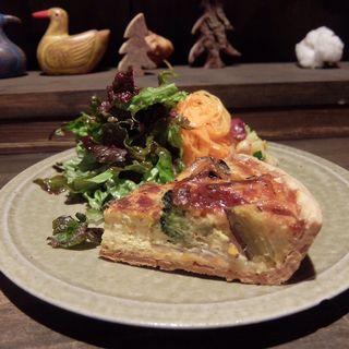 キッシュプレート(cafe marble仏光寺店 (カフェマーブル))