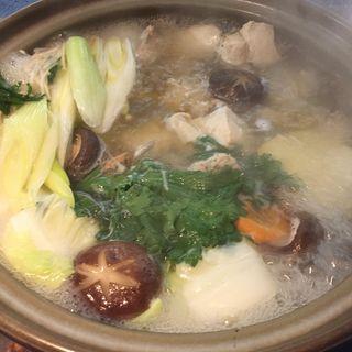 水炊き(くつろぎの美味家Uo(ウオ))