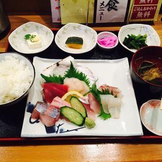 お造り定食(京りき家 )