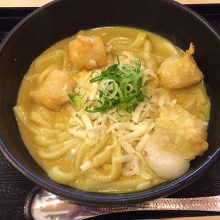 チーズカレーうどん(カレーうどん 千吉 新宿甲州街道店 (かれーうどん せんきち))