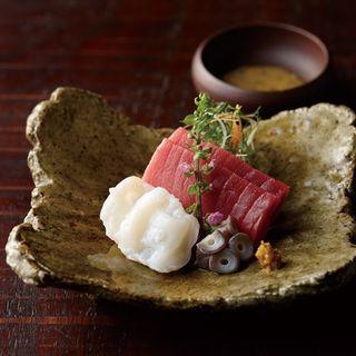 鮮魚の盛り合わせ(沖縄懐石 赤坂潭亭 (あかさかたんてい))