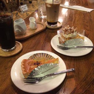 ケーキ ドリンクセット(珈琲グルメ (コーヒーグルメ))