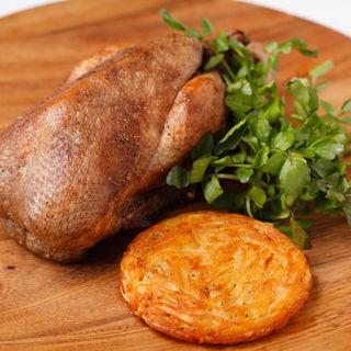 鶏肉のグリル(オザミ・デ・ヴァン 本店 (AUXAMIS des Vins))