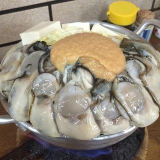 牡蠣みそ鍋
