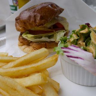 グリルドベジタブルバーガー(バーガーマニア 白金店 (Burger Mania))
