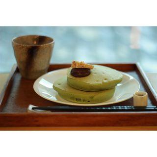 抹茶パンケーキ(うめぞの カフェアンドギャラリー (うめぞの CAFE & GALLERY))