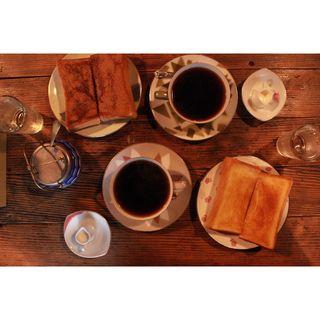 シナモントースト・バタートースト(うてな喫茶店 (ウテナキッサテン))