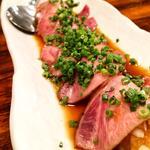 特上牛たんたたきポン酢(仙台牛たん焼 恵比寿 とらまつ)