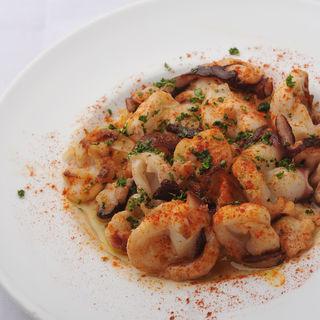 海鮮とジャガイモのトマト煮(バニュルス)