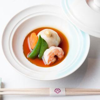 里芋と海老の煮つけ(五十嵐邸 銀座 (【旧店名】Kura・凛))