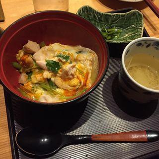 親子丼(小どんぶり)(鳥幸 観音坂)