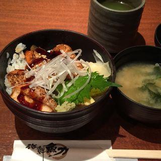 サーモン蒲焼き丼(魚力 大手町店 )