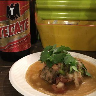 タコス(チキン)(taco stand anga)