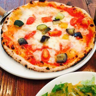 季節の野菜のピッツア(ピッツェリア マレンマ 大手町 )