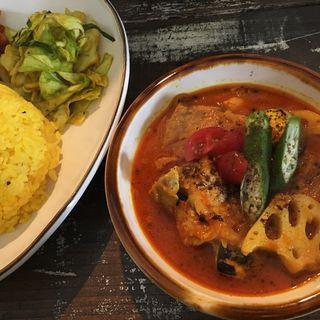 とりと野菜の食堂カレー(カレーの店 nandi ナンディ)