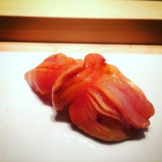 赤貝の握り(寿司芳 (すしよし))
