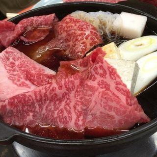 上の牛鍋(米久 (よねきゅう))