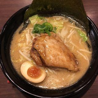 豚トロ角煮味噌ラーメン(江戸味噌ラーメン二代目てらっちょ)