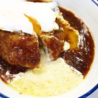 チーズ入りデミたまハンバーグ(松屋 与野店 )