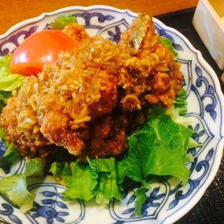 若鶏の唐揚げ自家製ネギソース(Suginoko 青山店 (すぎのこ))