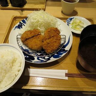 ひれかつ定食(小)(とんかつ寿々木 コレド室町店)