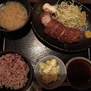 豆冨カツ定食(土風炉 市ヶ谷店 (とふろ))