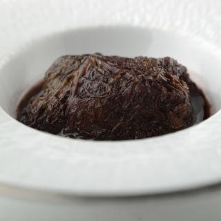 和牛の赤ワイン煮込み(ボン・ファム )