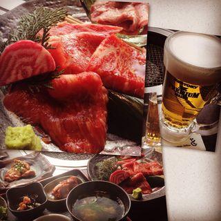 焼肉ランチと昼ビールと現実逃避(米沢牛焼肉 仔虎 仙台駅前店 (コトラ))