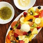 果物いっぱいフレンチトースト(山口果物 (ヤマグチクダモノ))