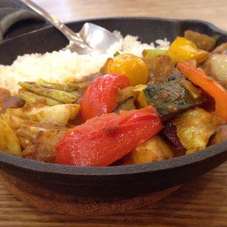 1日分の野菜カレー(野菜を食べるカレーcamp エキマルシェ大阪店 (キャンプ))