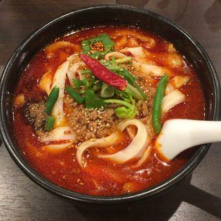 麻辣刀削麺(マーラートウショウメン)(張家 浜松町店 (チョウヤ))